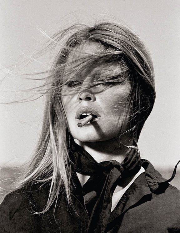 Terry O'Neill, Brigitte Bardot - co-signed print, 1971