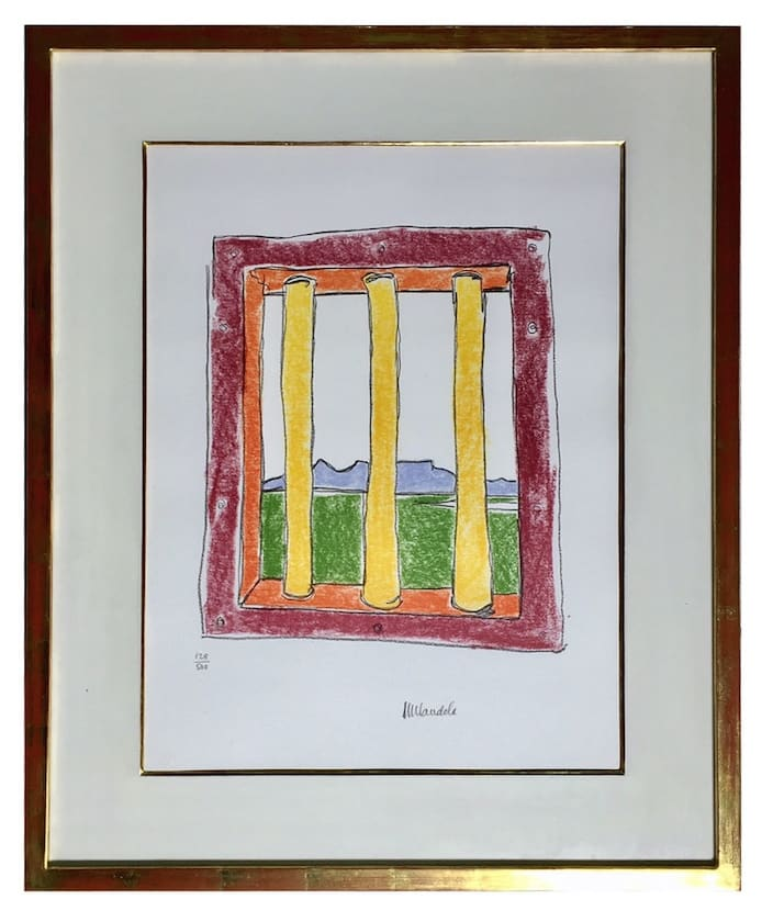 Nelson Mandela, The Window, 2002