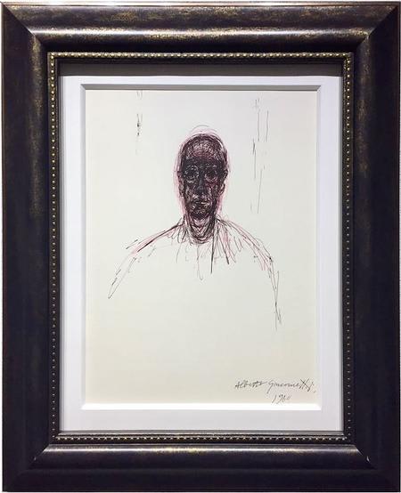 John Myatt, Portrait of Diego - Original