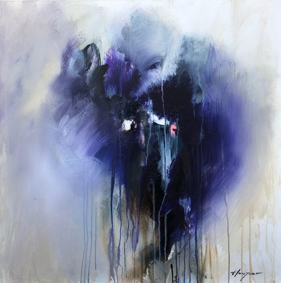 Daniel Hooper, Purple Rain, 2020