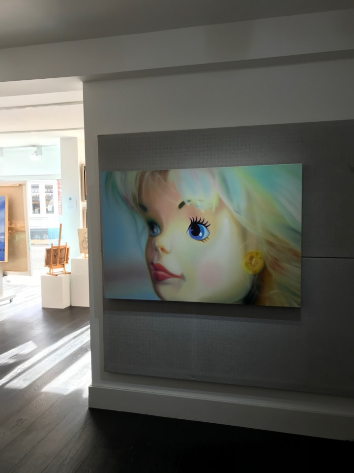 Sarah Graham, Sheer Blonde - Original - POA