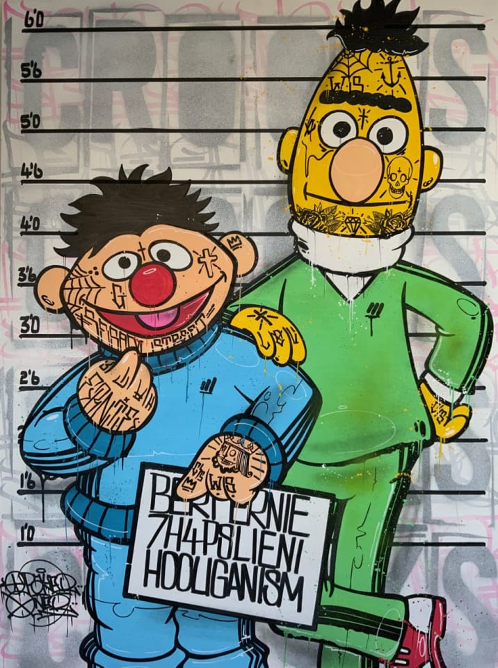 Opake One, Bert & Ernie, 2020