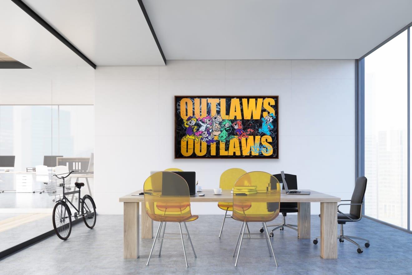 Opake One, Outlaws, 2020