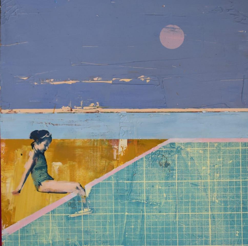 Dan Parry-Jones, Lido Pink Moon, 2020