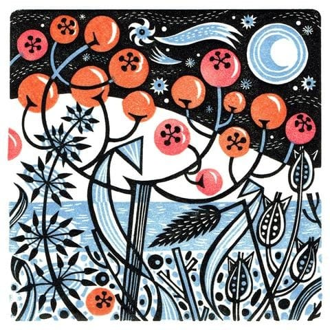 Angie Lewin, Winter Berries