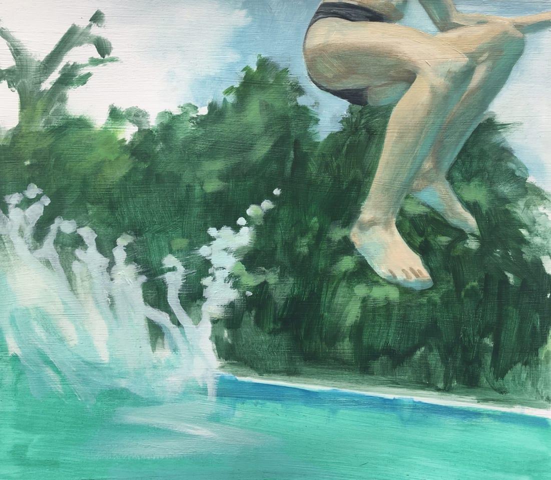 Patsy McArthur, Splash Study, 2020
