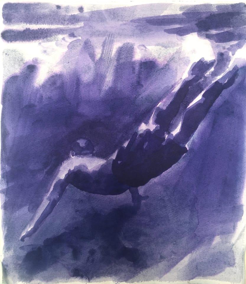 Patsy McArthur, Violet Dip , 2020