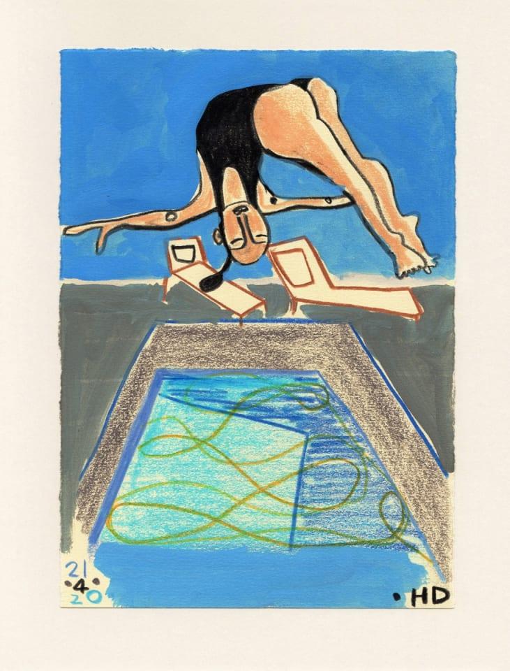 Henrietta Dubrey, High Dive, 2020