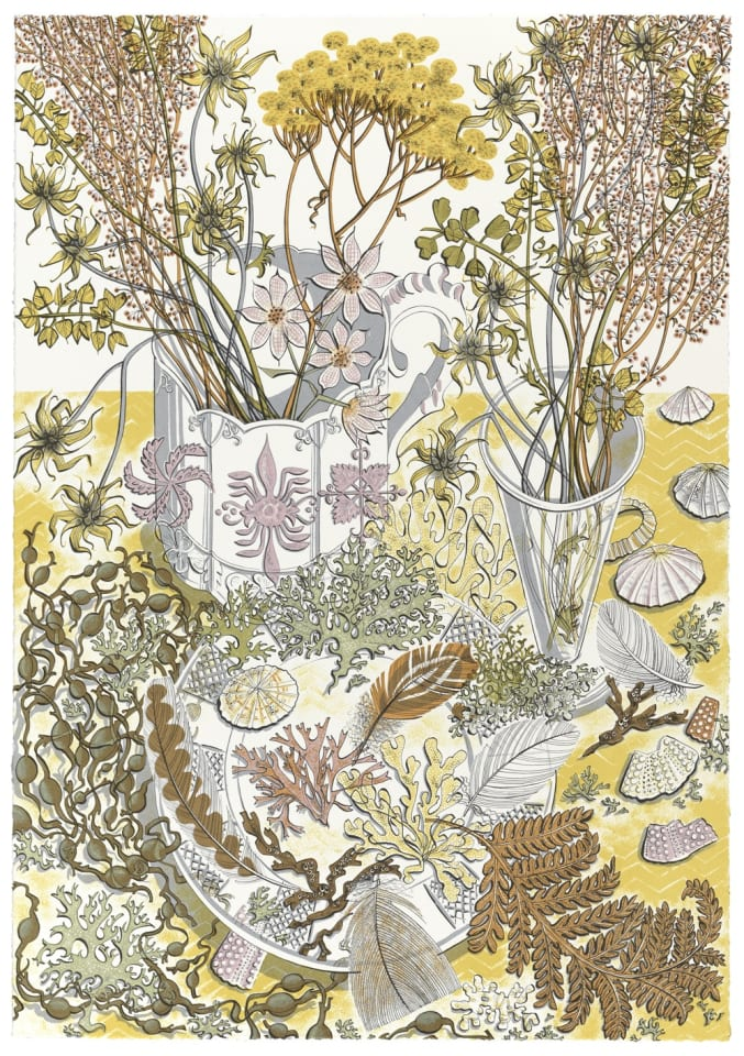 Angie Lewin, Nature Study, Late Summer