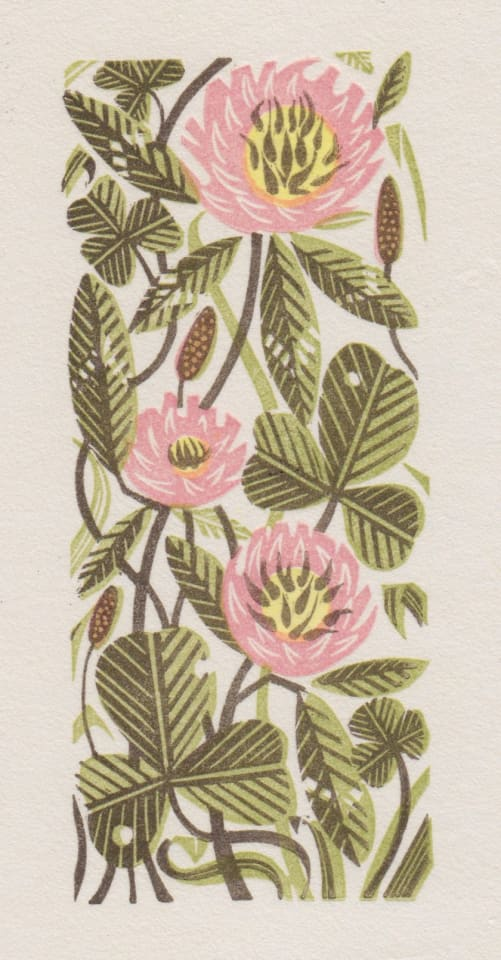 Angie Lewin, Clover