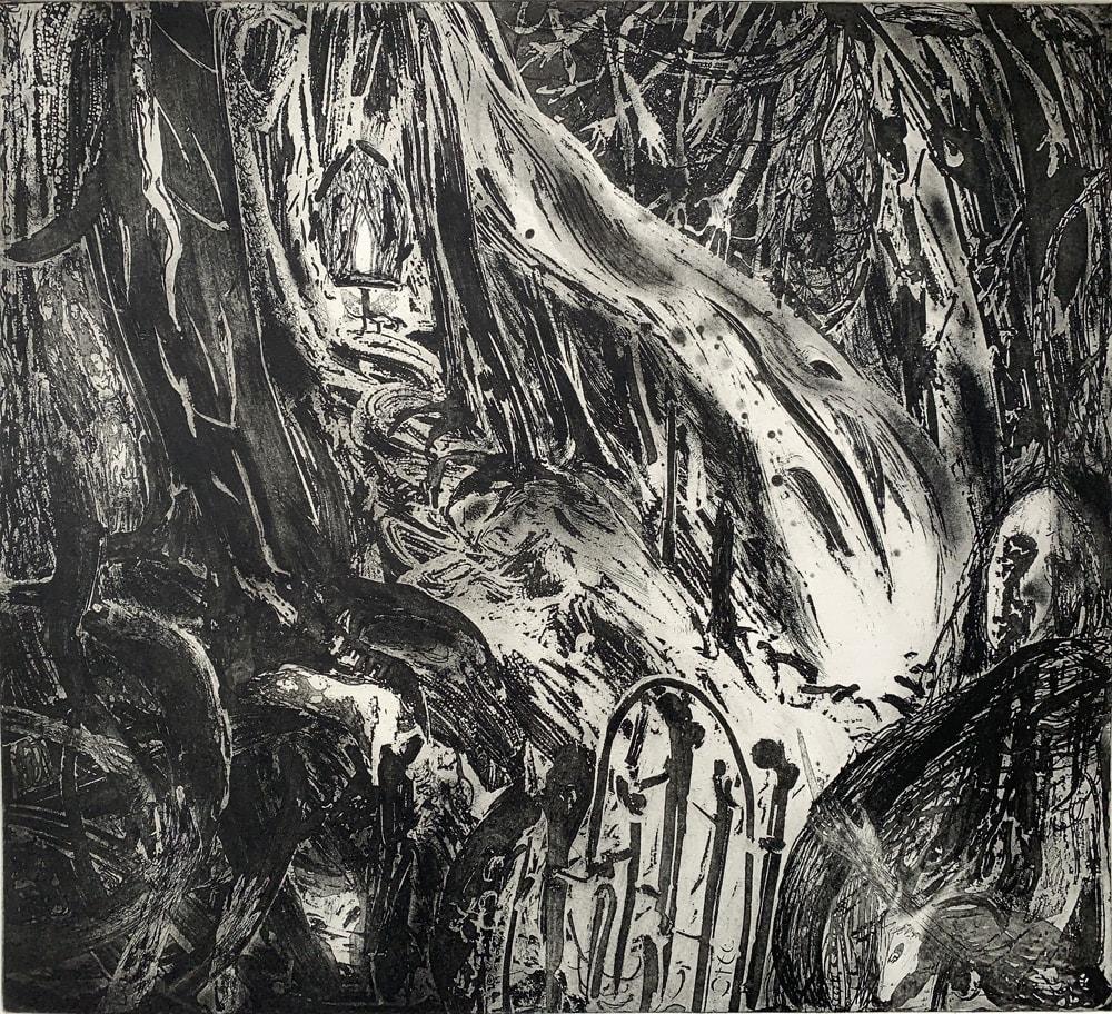 Flora McLachlan, The Bone Gate I, 2020