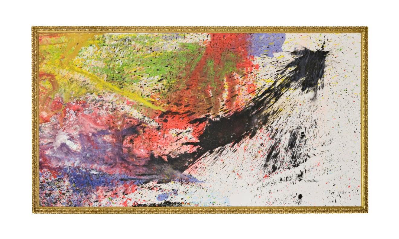 Shozo Shimamoto, Bottle Crash in Venice 14, 2007