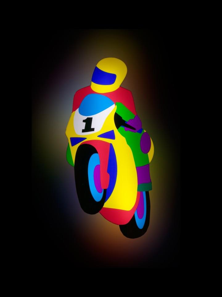 Marco Lodola, Moto, 2002