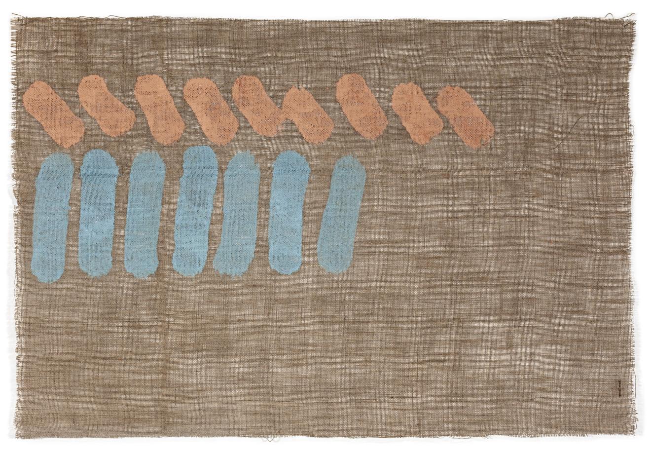 Giorgio Griffa, Due colori, 1978