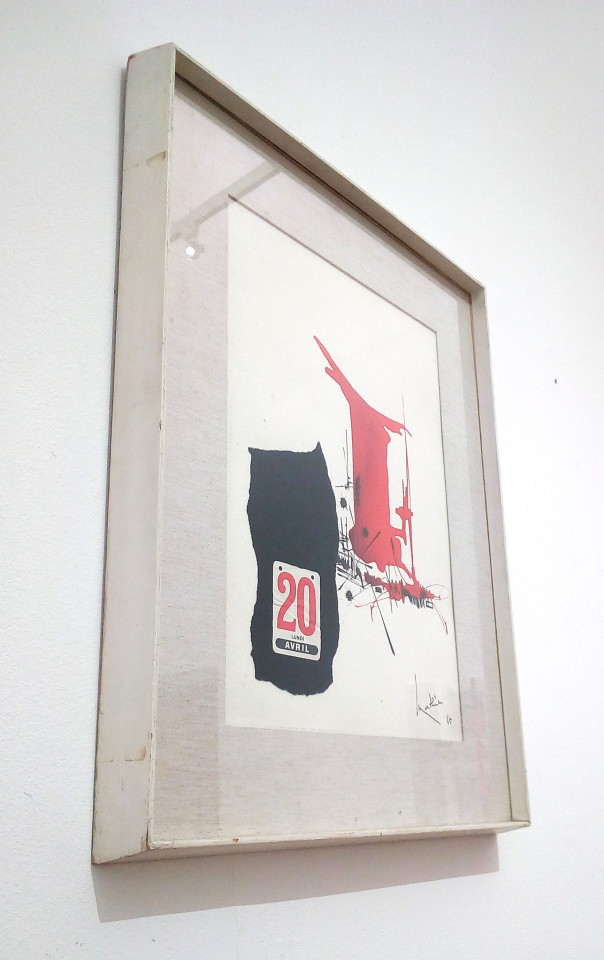 Georges Mathieu, Composizione, 1965