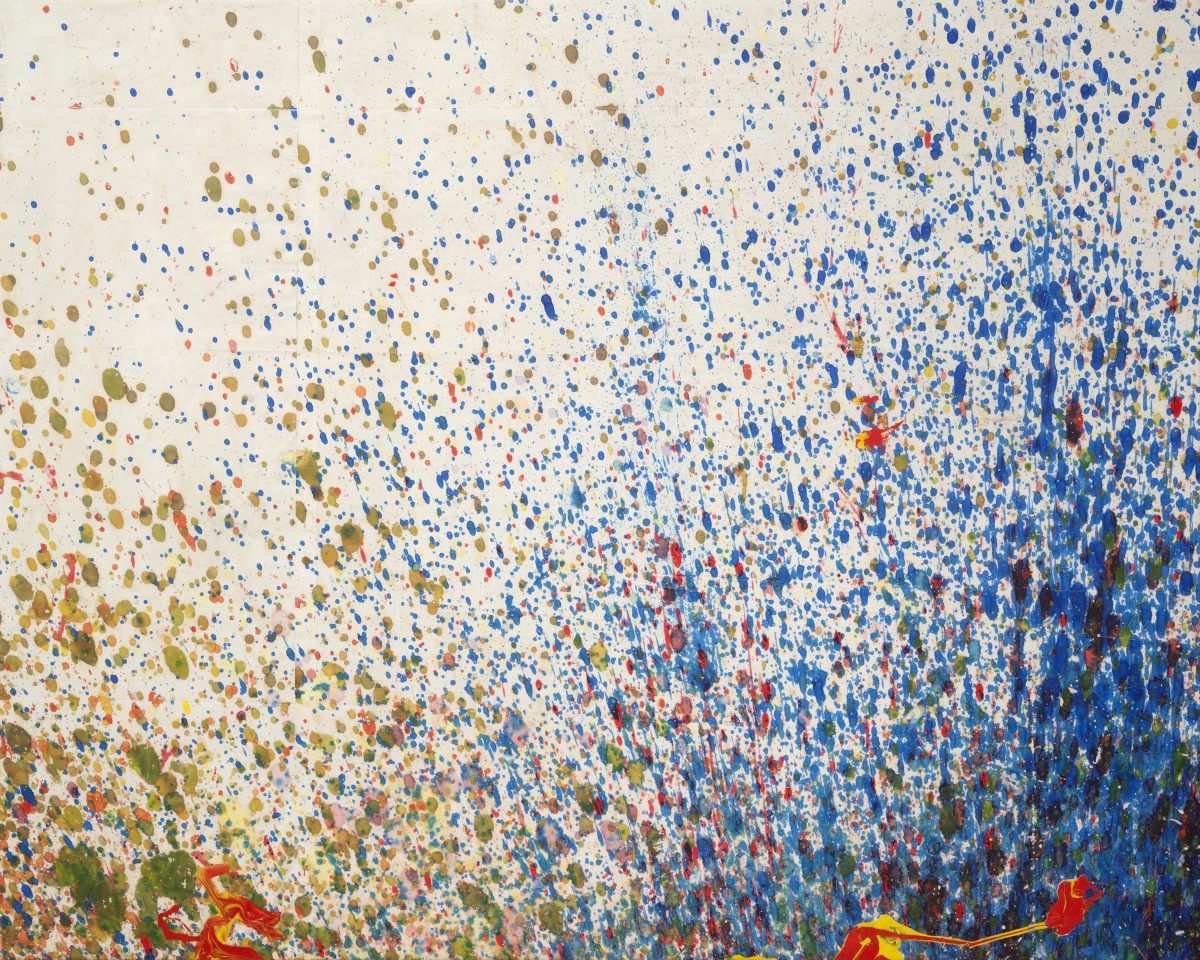 Shozo Shimamoto, Bottle Crash, 1999