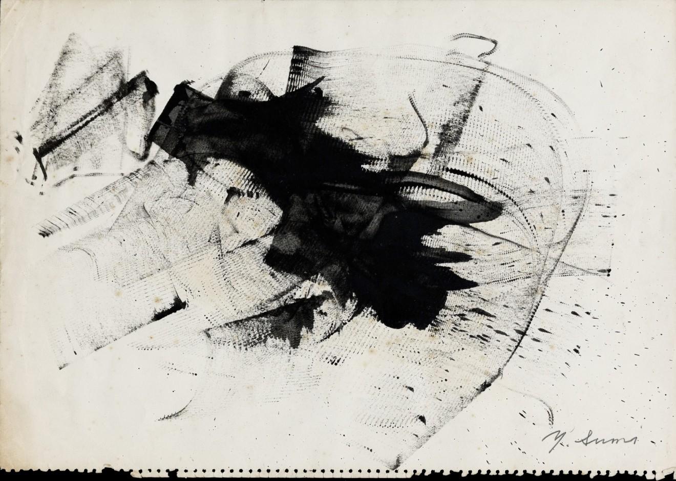 Yasuo Sumi, Untitled 55, 1955