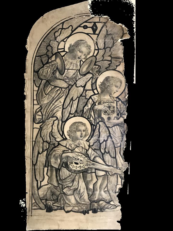 Heaton, Butler & Bayne, Three Angels , c. 1880 –1910