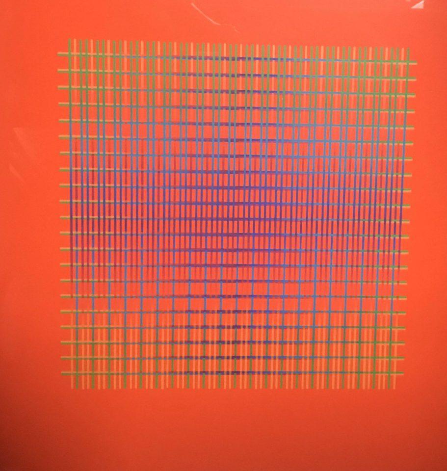 Julia Atkinson, Interchange - Series 14 - Vermillion, 1977