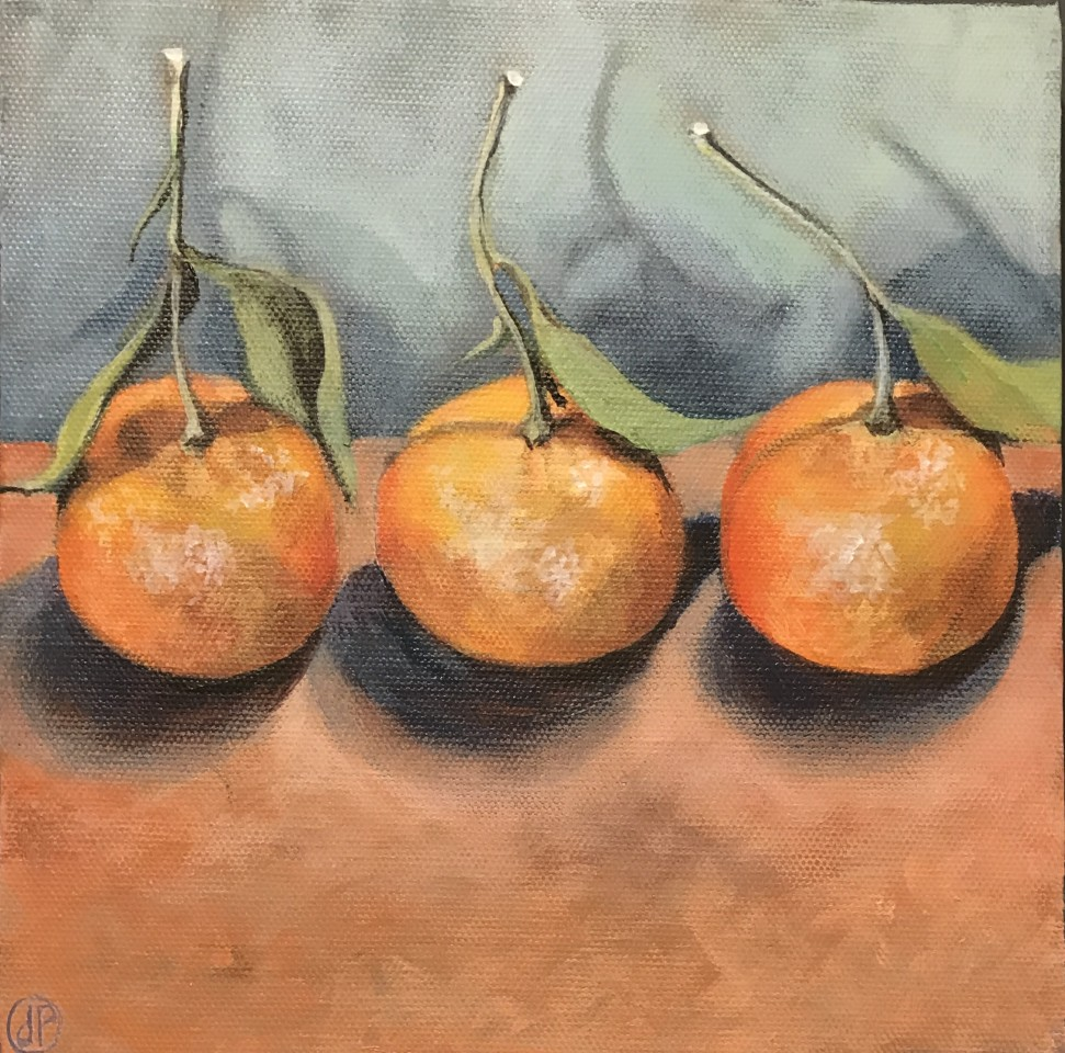 Joyce Pinch, Three Clementines, 2016