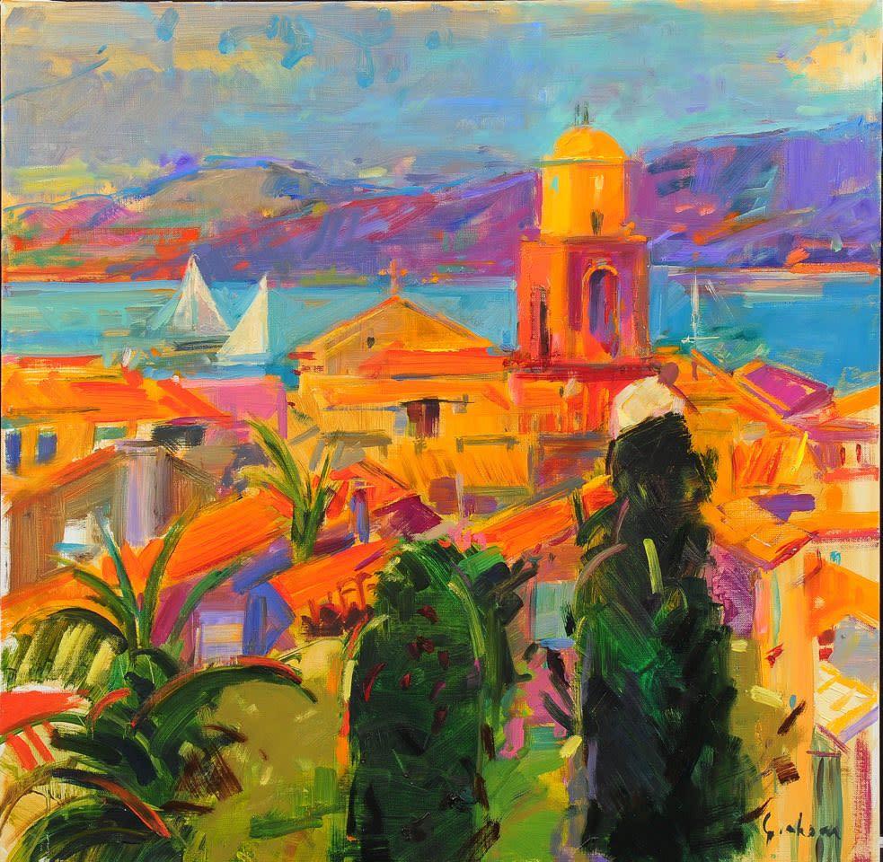 Peter Graham ROI, Saint Tropez Sailing