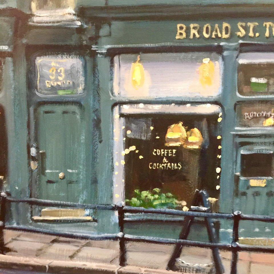 Ben Hughes, Broad Street Townhouse, Bath