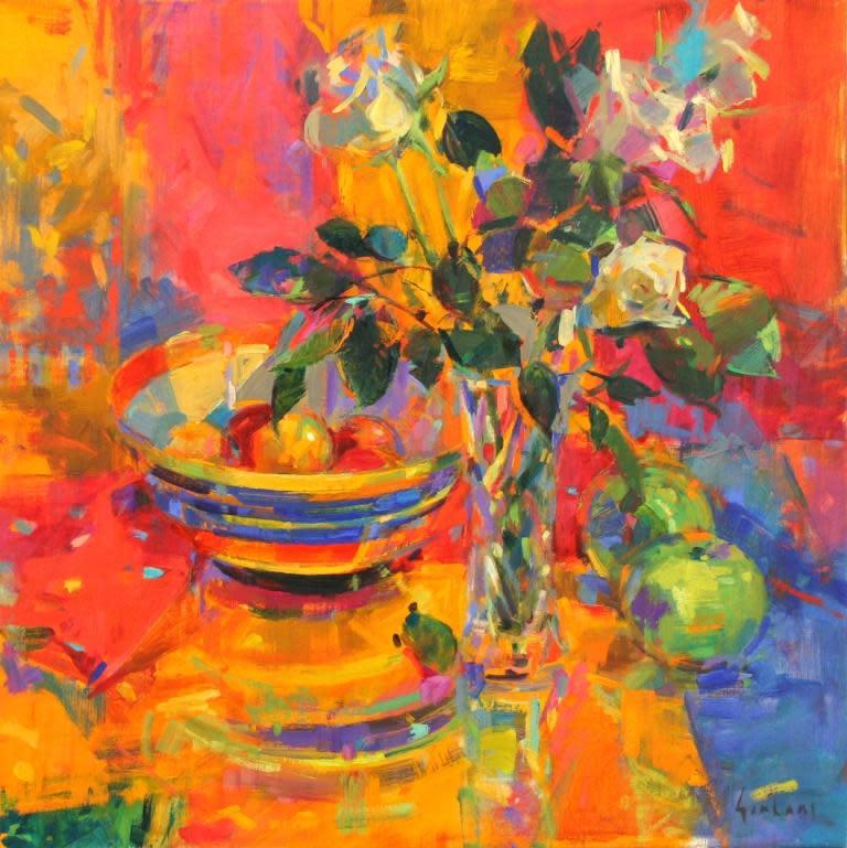 Peter Graham ROI, Roses & Fruits, 2017