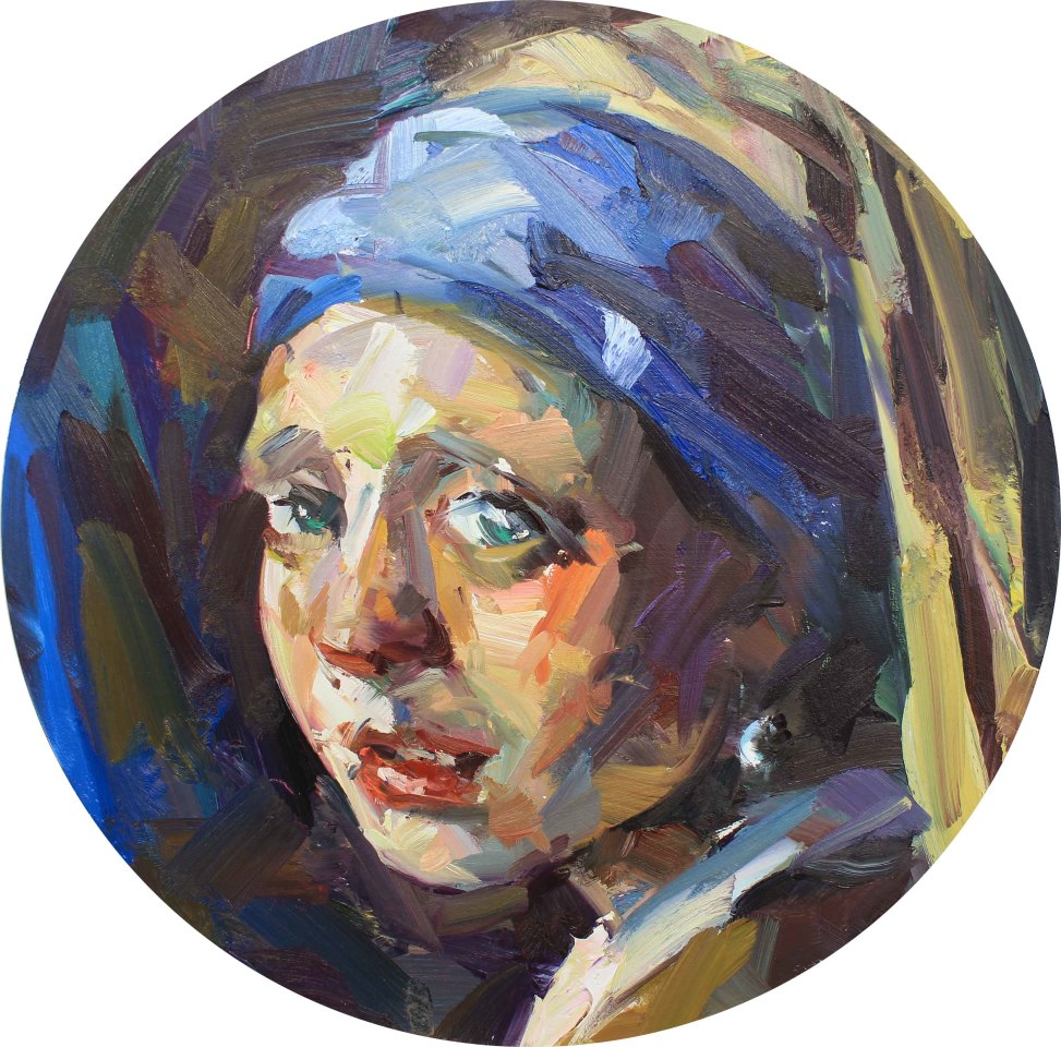 Paul Wright, Girl with Pearl Earring
