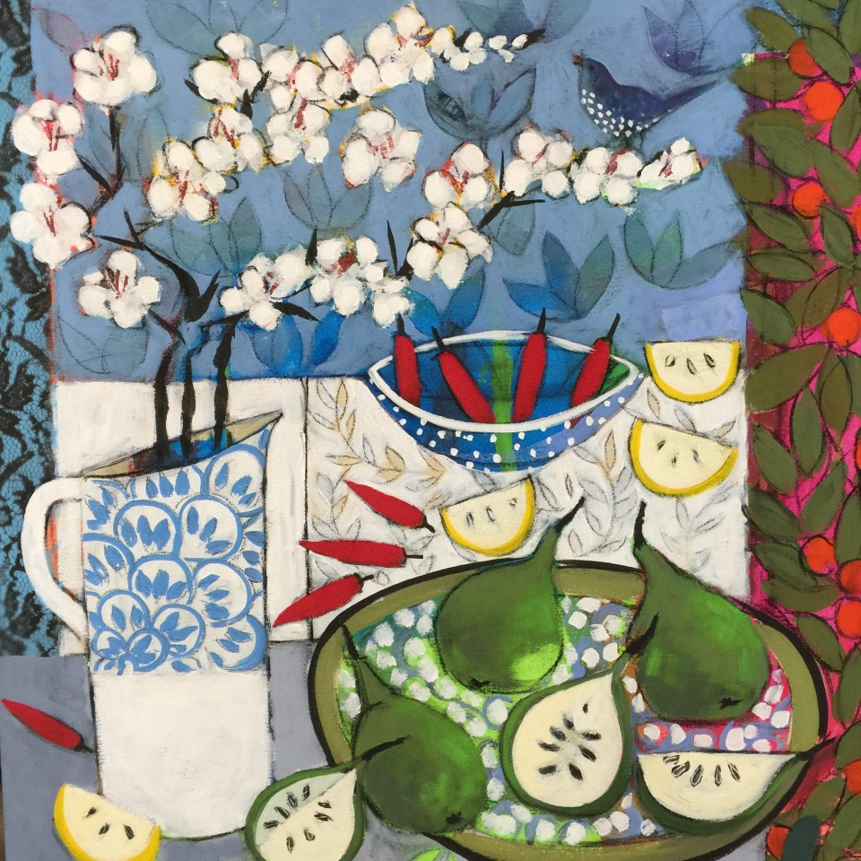 Relton Marine, Still Life with Pears