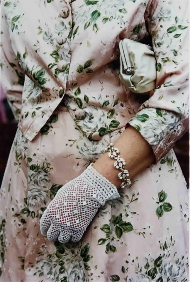 Richard Heeps, Pink Floral Dress