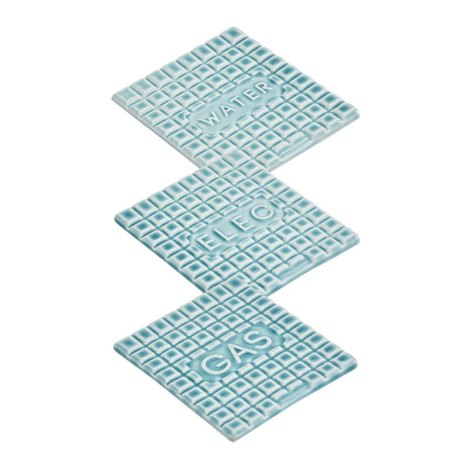 Stolen Form, Coasters - Blue, 2017