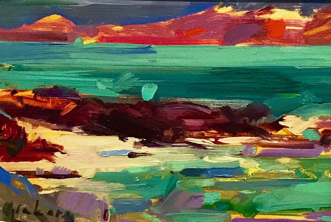 Peter Graham ROI, Iona Shore, 2017