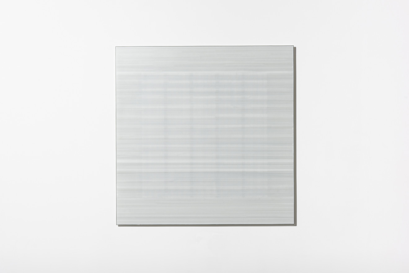 In the Vicinity of White (Grid) #5
