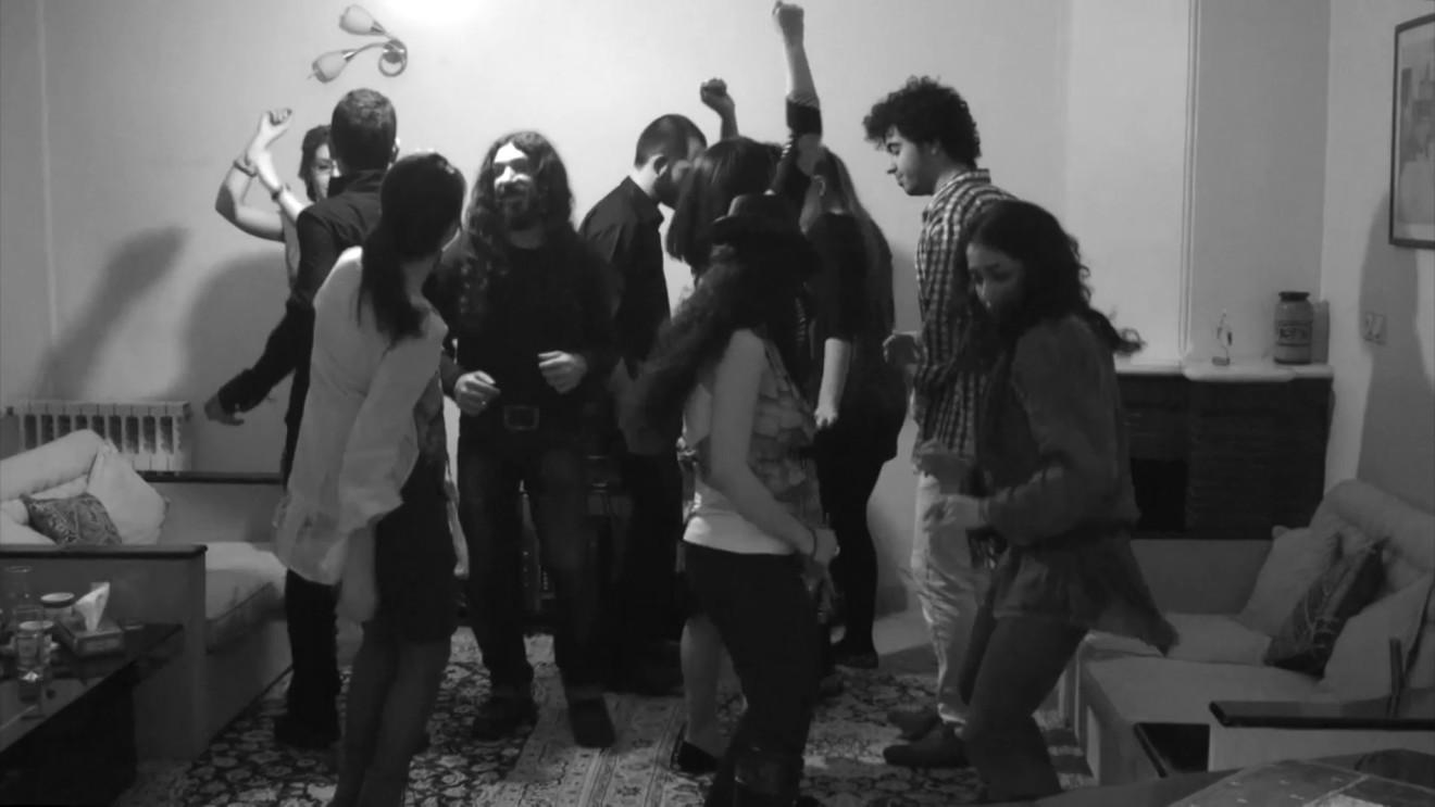 Anahita Razmi, Domino dancing, 2014