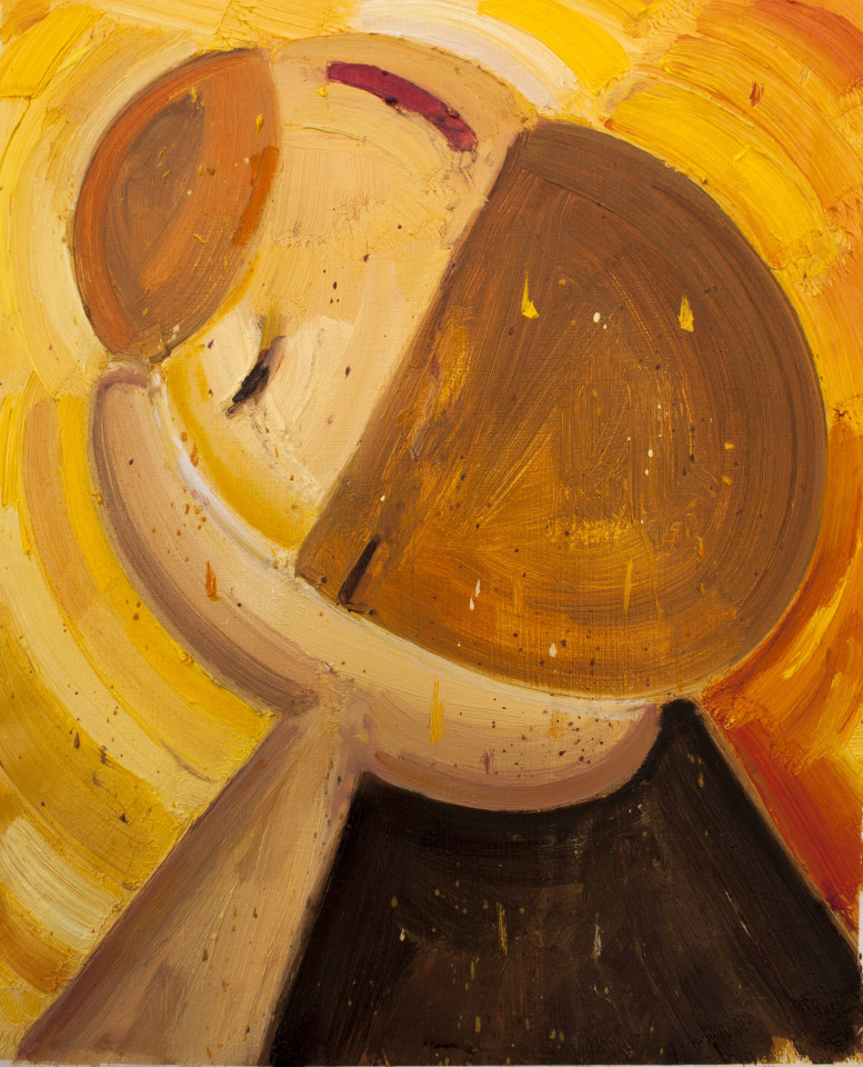 Amir Khojasteh, Portrait of a lonely man, 2018