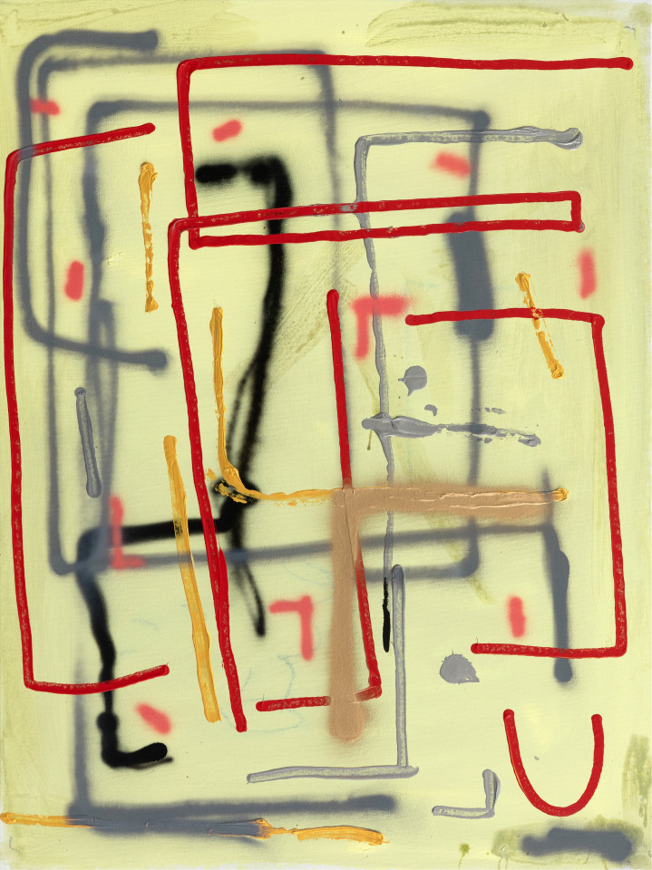André Butzer, Untitled, 2019