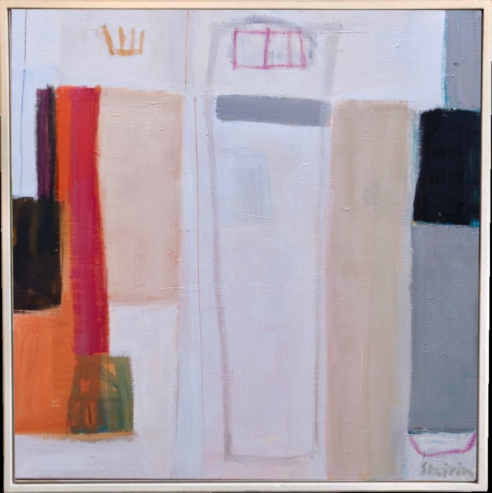 Shirin Tabeshfar Houston, Rooftops (London Gallery)