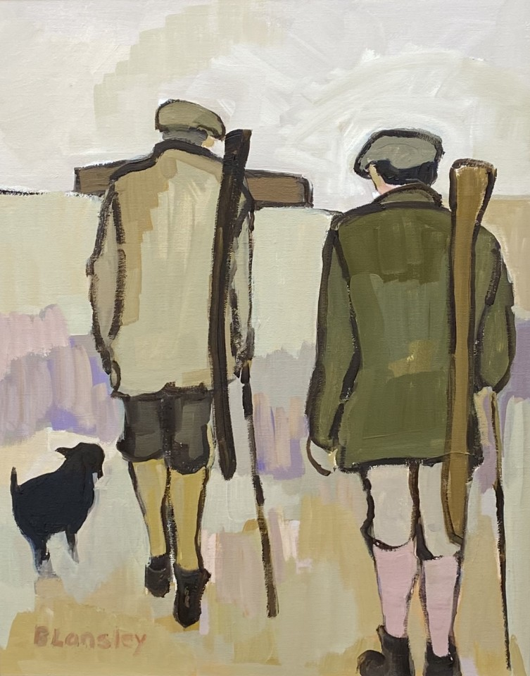 Bridget Lansley, To the Shoot Barn (Hungerford Gallery)