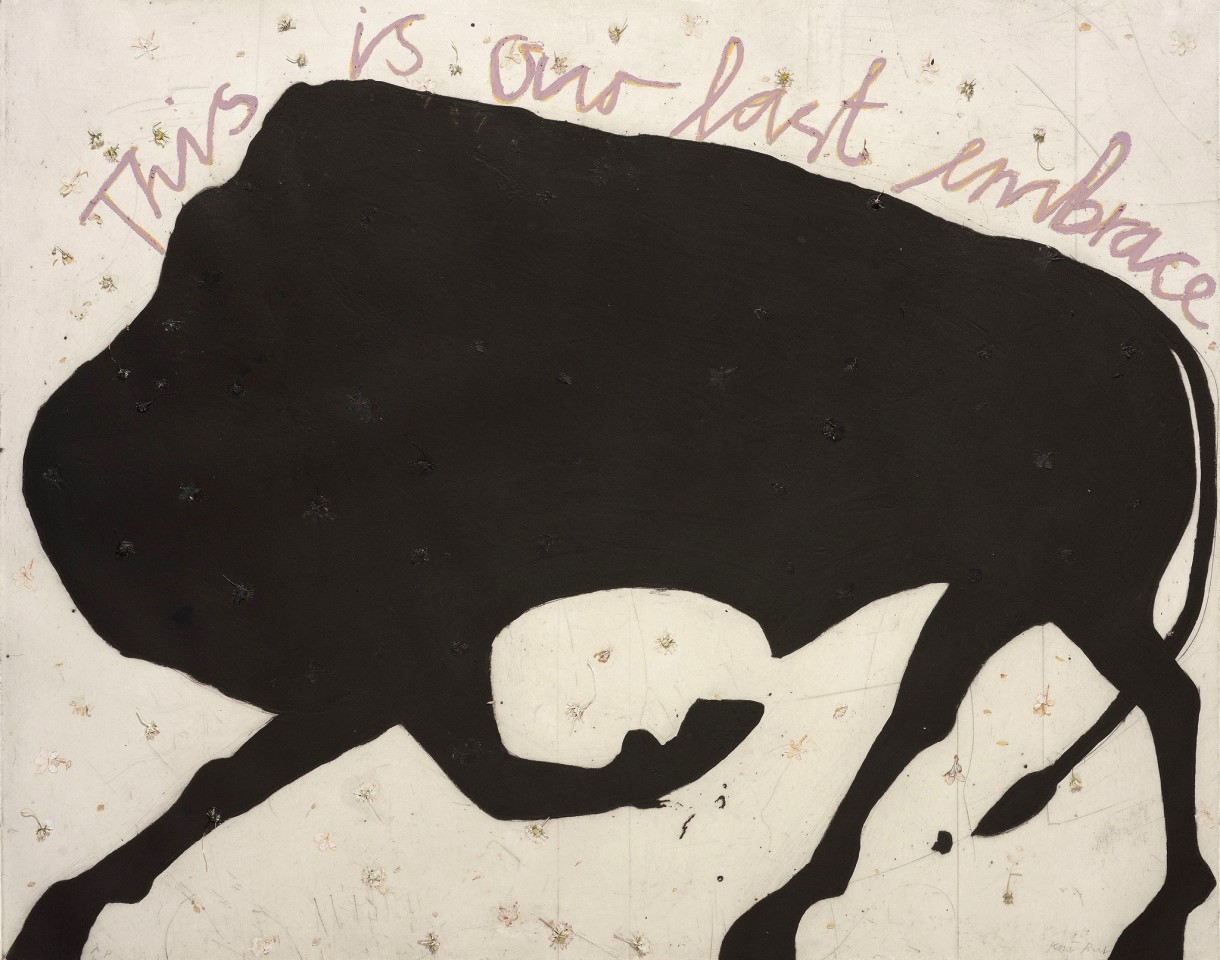 Kate Boxer, This is our Last Embrace (Mounted)