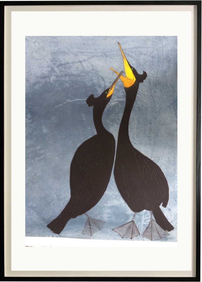 Kate Boxer, Shags (Mounted)
