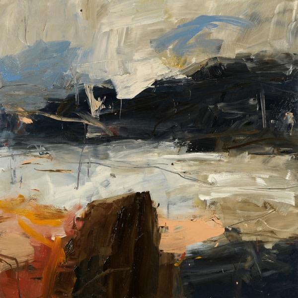 Louise Balaam, Across the bay, Pink Rock (London Gallery)