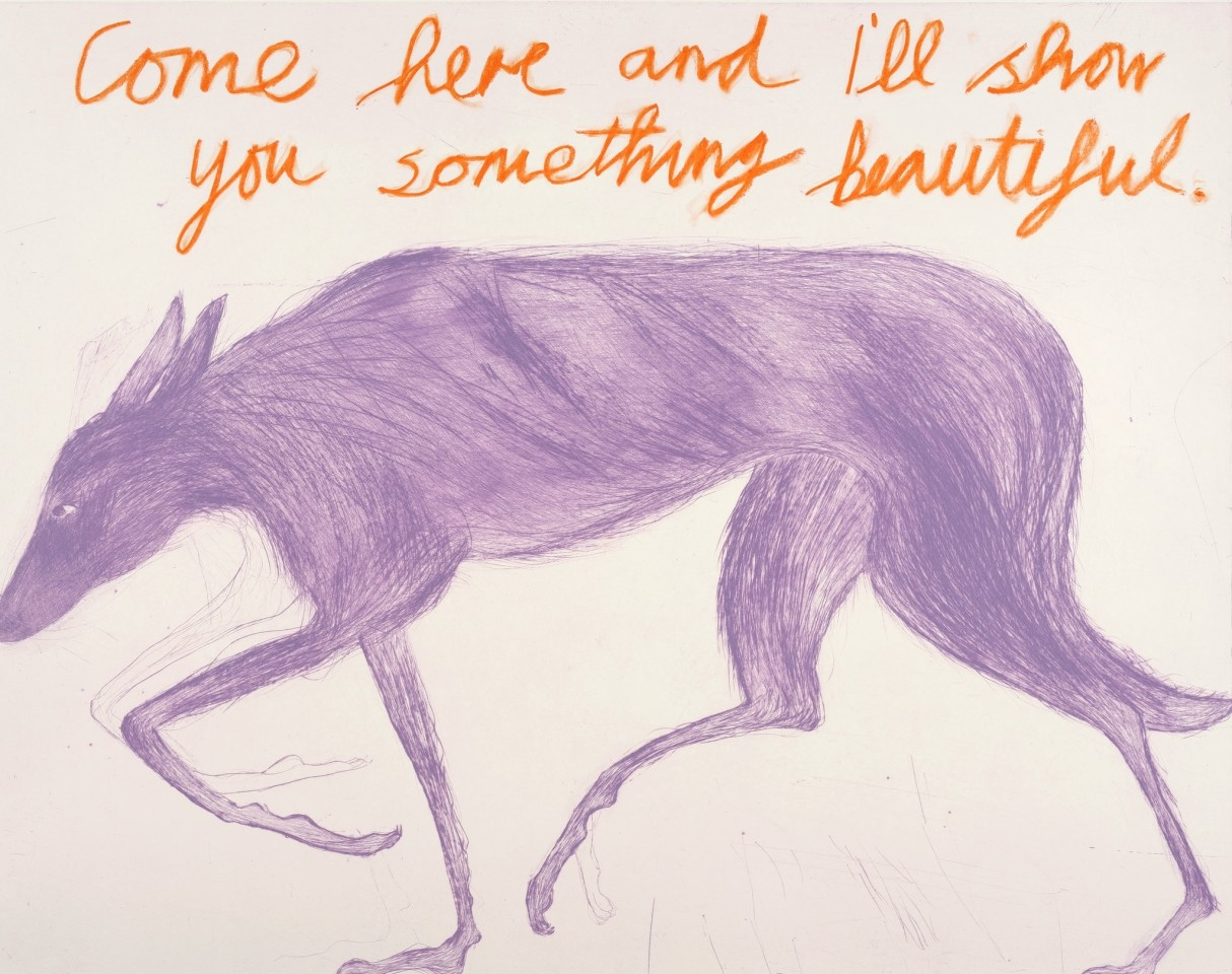 Kate Boxer, Come Here (Mounted)