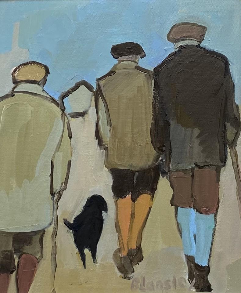 Bridget Lansley, Obedience (Hungerford Gallery)