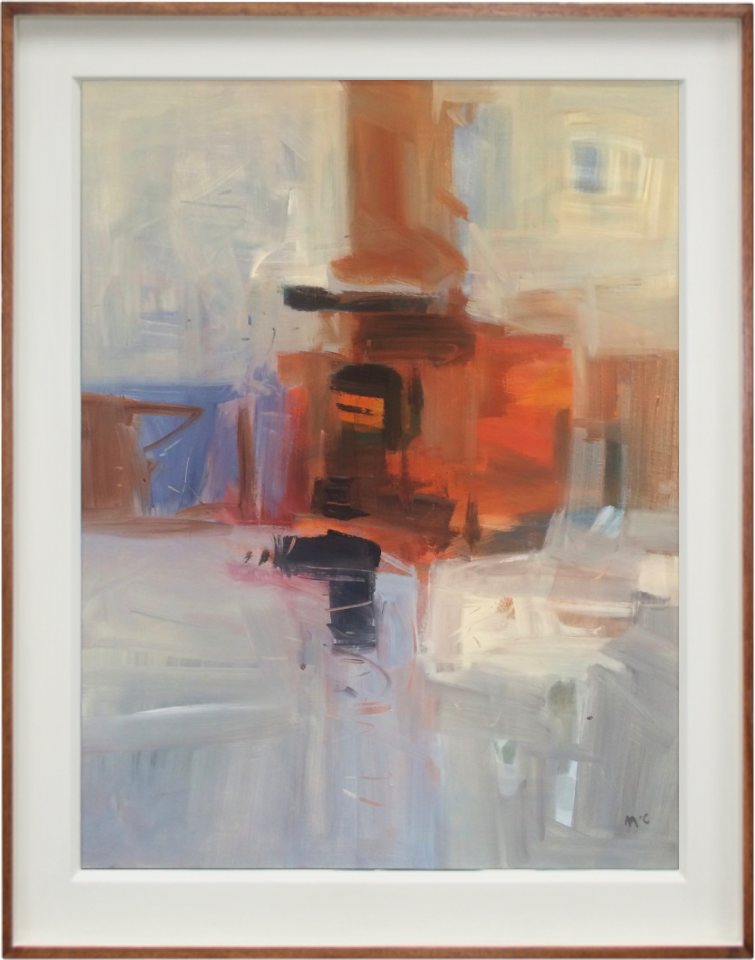 Malcolm Chandler, Red Abstraction (London Gallery)