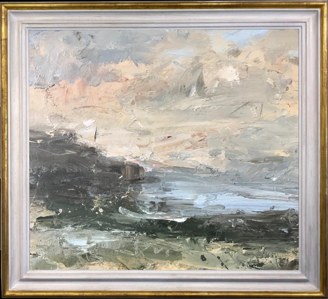 Louise Balaam, Sky, Water, Rock (Hungerford Gallery)