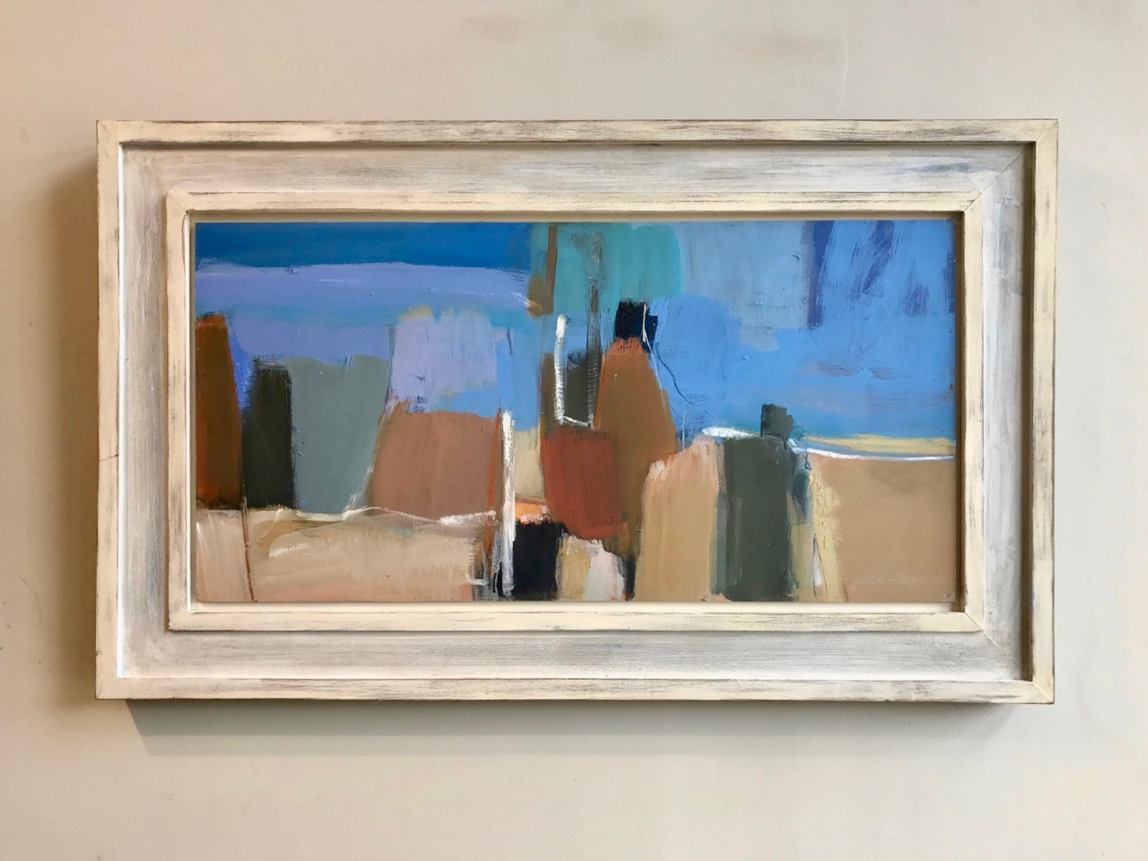 Dafila Scott, Into the Blue (Hungerford Gallery)