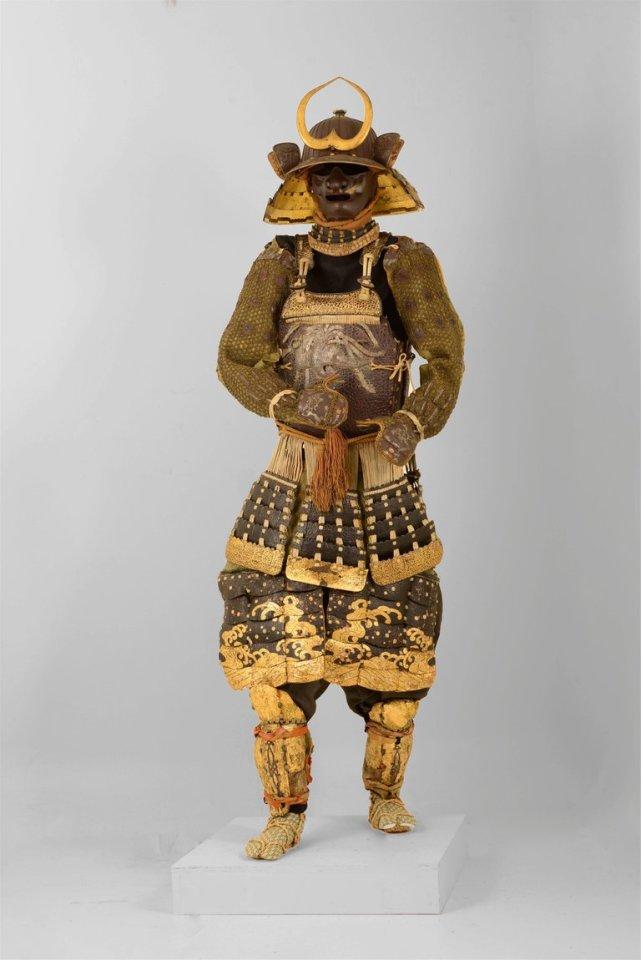 Katchu Shi, Spectacular Samurai armor from Kaga Province, c. 1760