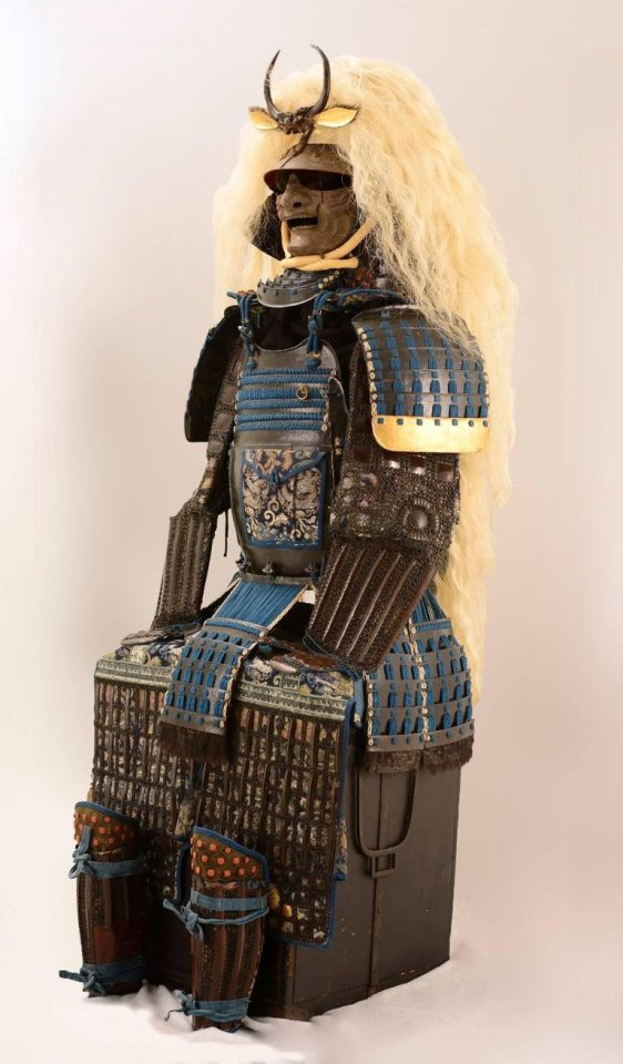Katchu Shi, Spectacular Japanese Samurai Armor in the style of a legendary warrior, c. 1800