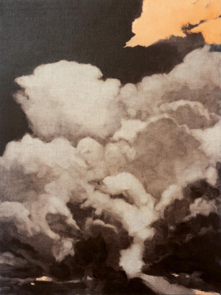 Joakim Allgulander, Orange cloud, 2020