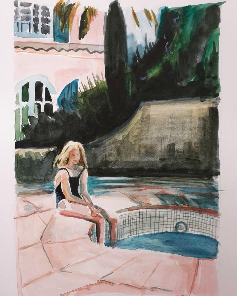 Lucy Smallbone, Paddle, 2020